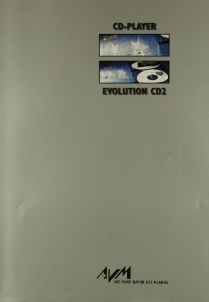 AVM Evolution CD2 Prospekt / Katalog