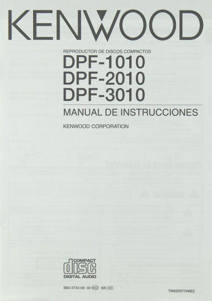 Kenwood DPF-1010 / DPF-2010 / DPF-3010 Bedienungsanleitung