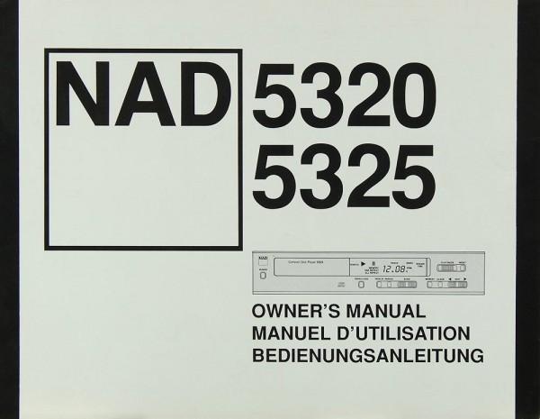 NAD 5320 / 5325 Bedienungsanleitung