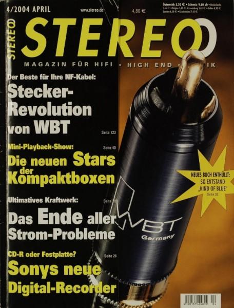 Stereo 4/2004 Zeitschrift