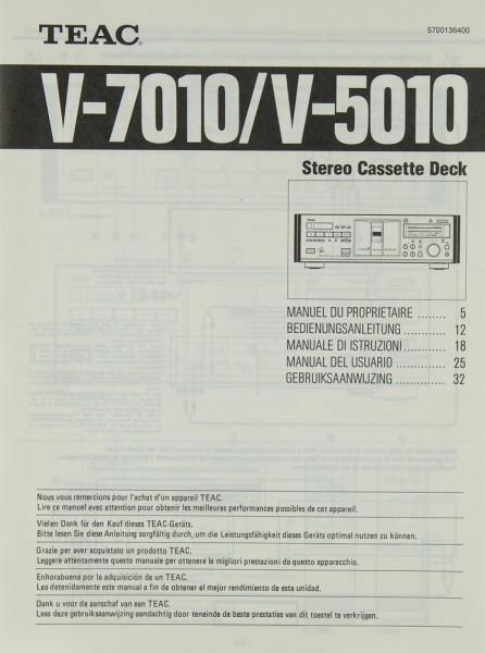 Teac V-7010 / V-5010 Bedienungsanleitung