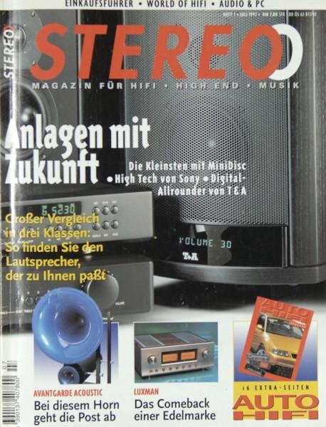 Stereo 7/1997 Zeitschrift