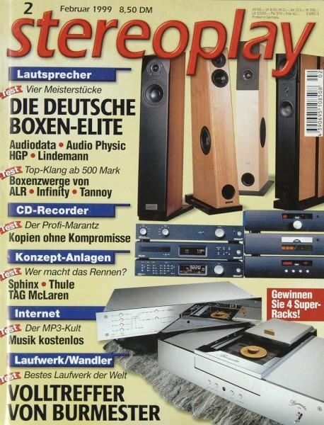 Stereoplay 2/1999 Zeitschrift