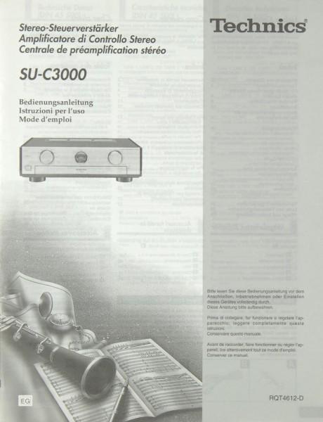 Technics SU-C 3000 Bedienungsanleitung