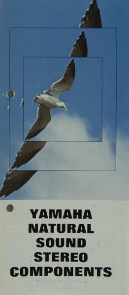 Yamaha Natural Sound Stereo Components Prospekt / Katalog