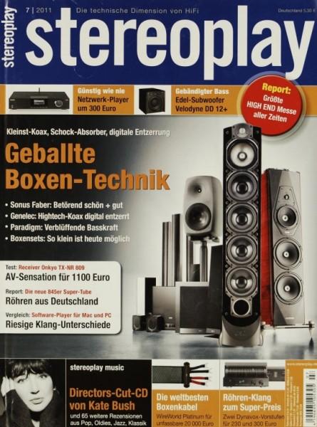 Stereoplay 7/2011 Zeitschrift