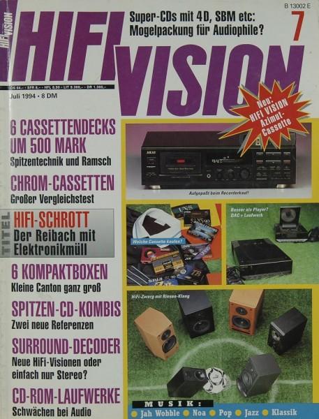Hifi Vision 7/1994 Zeitschrift