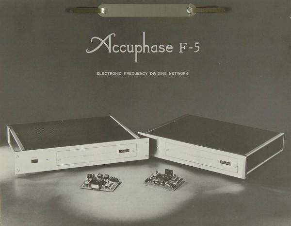 Accuphase F-5 Bedienungsanleitung