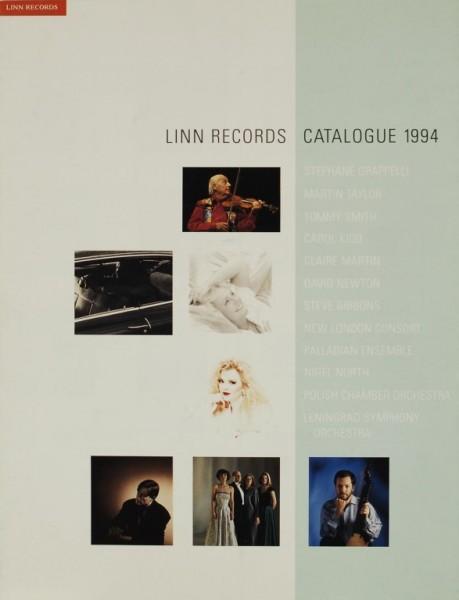 Linn Records Catalogue 1994 Prospekt / Katalog