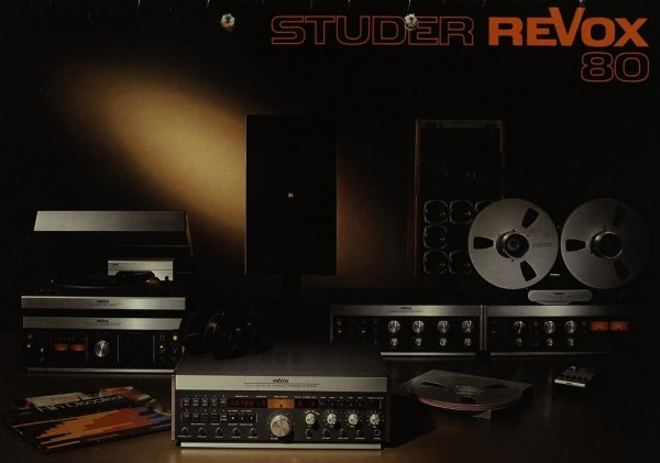 Revox (Studer Revox) Studer Revox 80 Prospekt / Katalog
