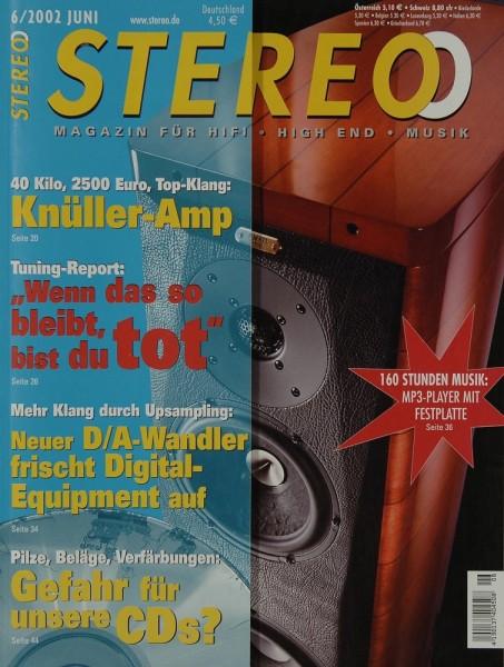 Stereo 6/2002 Zeitschrift
