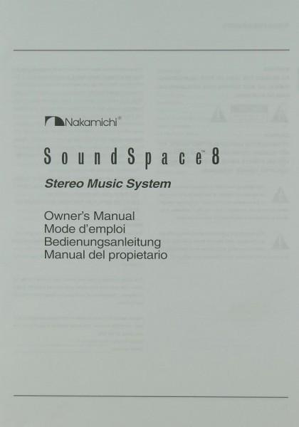Nakamichi Sound Space 8 Bedienungsanleitung