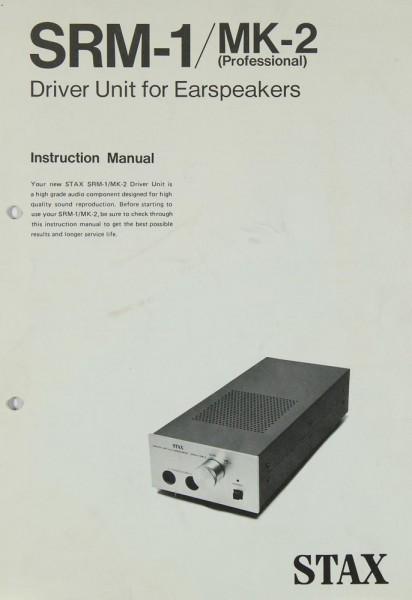 Stax SRM-1 MK-2 Bedienungsanleitung