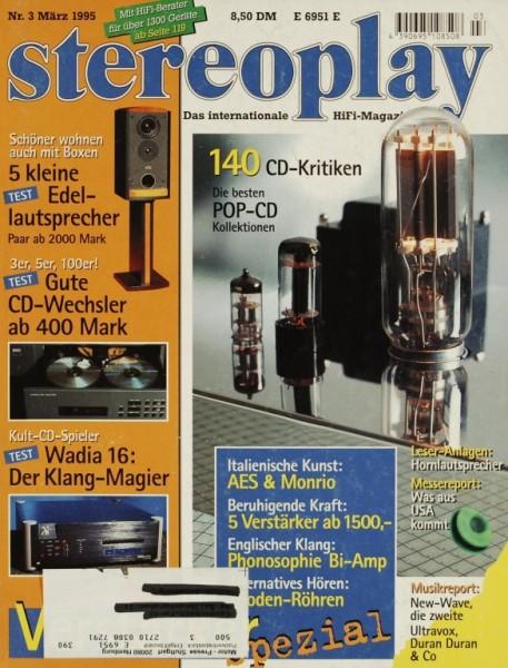 Stereoplay 3/1995 Zeitschrift
