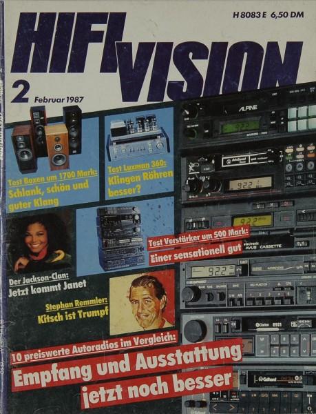Hifi Vision 2/1987 Zeitschrift
