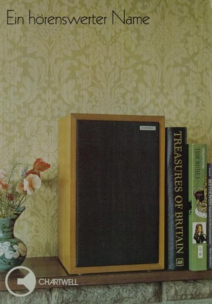 Chartwell Modell LS 3-5 A Prospekt / Katalog