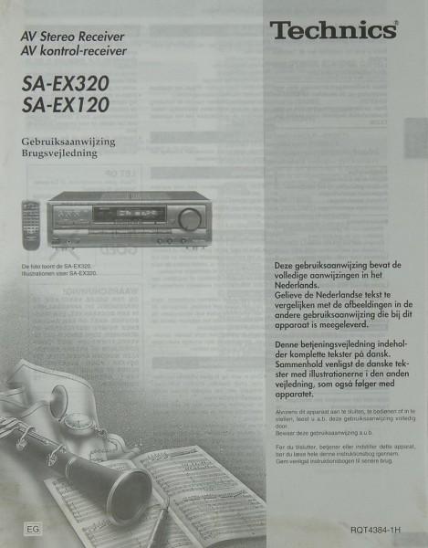 Technics SA-EX 320 / 120 Bedienungsanleitung