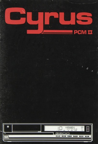 Mission / Cyrus PCM II Bedienungsanleitung