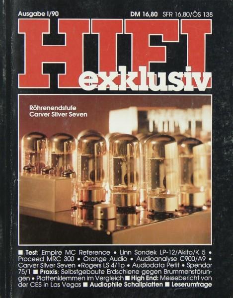 Hifi Exklusiv I / 90 Zeitschrift