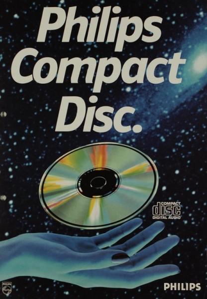 Philips Philips Compact Disc Prospekt / Katalog
