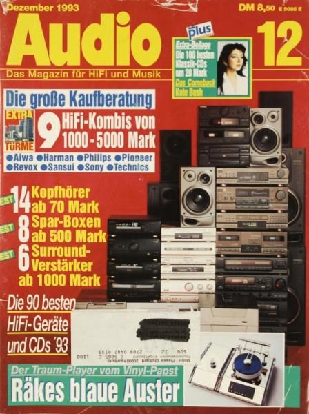 Audio 12/1993 Zeitschrift