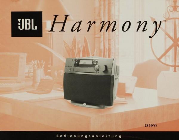 JBL Harmony Bedienungsanleitung