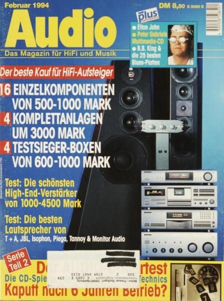 Audio 2/1994 Zeitschrift