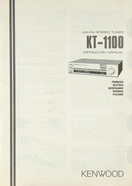 Kenwood KT-1100 Bedienungsanleitung