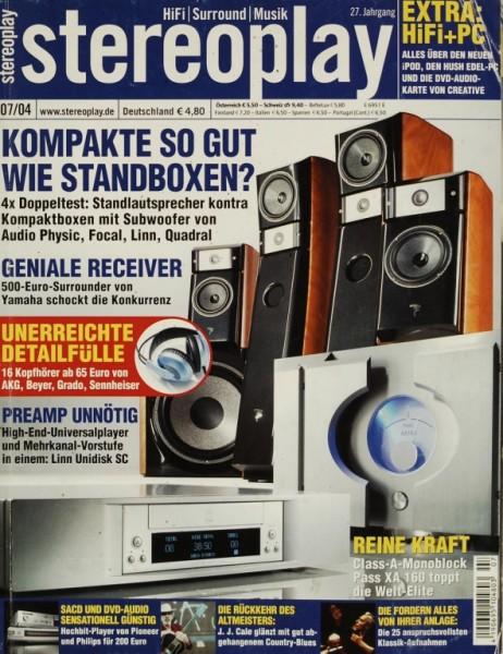 Stereoplay 7/2004 Zeitschrift
