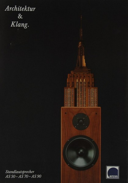 Arcus AS 50 / AS 70 / AS 90 Prospekt / Katalog