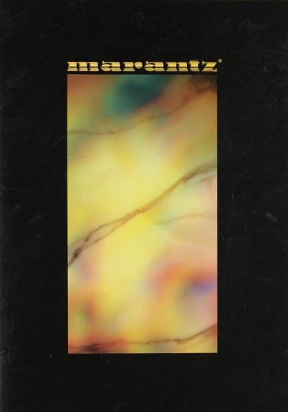 Marantz Produktübersicht Prospekt / Katalog