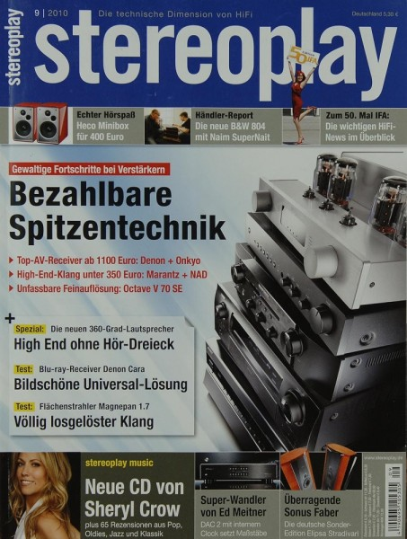 Stereoplay 9/2010 Zeitschrift
