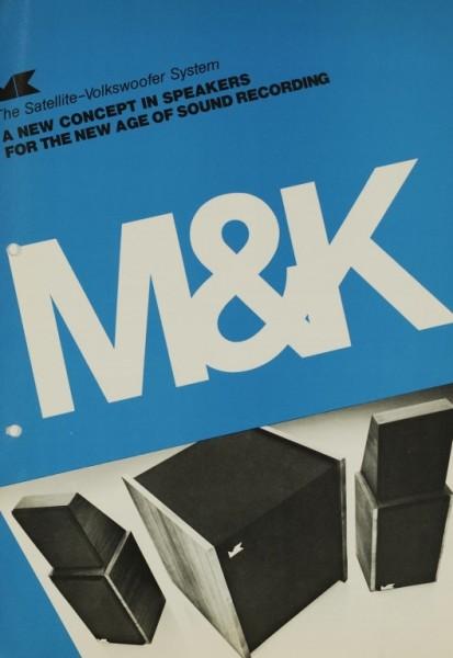 M&K The Satellite-Volkswoofer System Prospekt / Katalog