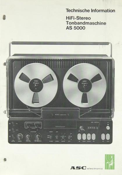 ASC AS 5000 Bedienungsanleitung