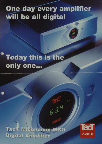TacT Millennium MK II Prospekt / Katalog