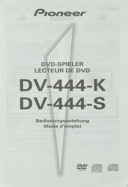 Pioneer DV-444-K / DV-444-S Bedienungsanleitung