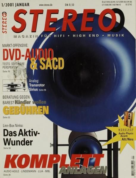 Stereo 1/2001 Zeitschrift