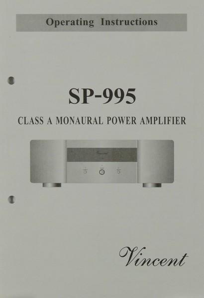 Vincent SP-995 Bedienungsanleitung