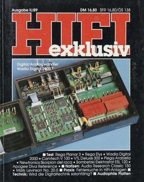 Hifi Exklusiv II / 89 Zeitschrift