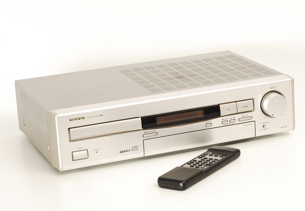 onkyo cr 70 r receiver mit integ cd receiver ger te. Black Bedroom Furniture Sets. Home Design Ideas