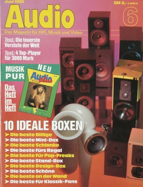 Audio 6/1990 Zeitschrift