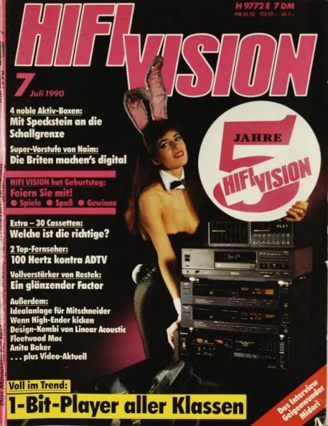Hifi Vision 7/1990 Zeitschrift
