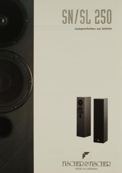 Fischer & Fischer SN / SL 250 Prospekt / Katalog