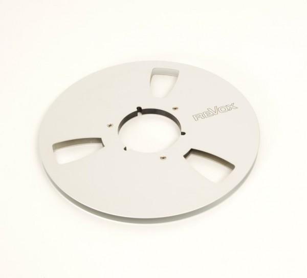 Revox Leerspule 27er NAB Metall silbern