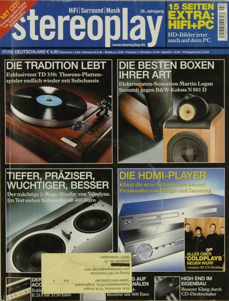 Stereoplay 7/2005 Zeitschrift