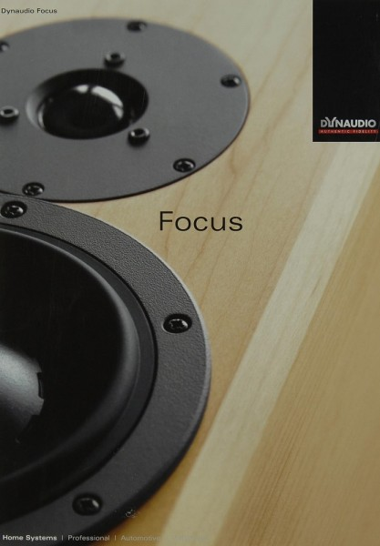 Dynaudio Focus Prospekt / Katalog