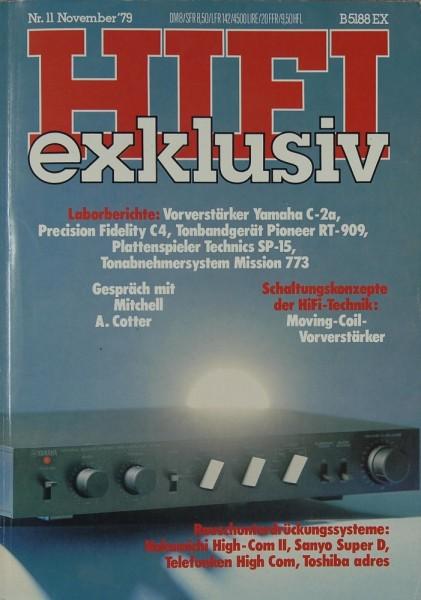 Hifi Exklusiv 11/1979 Zeitschrift