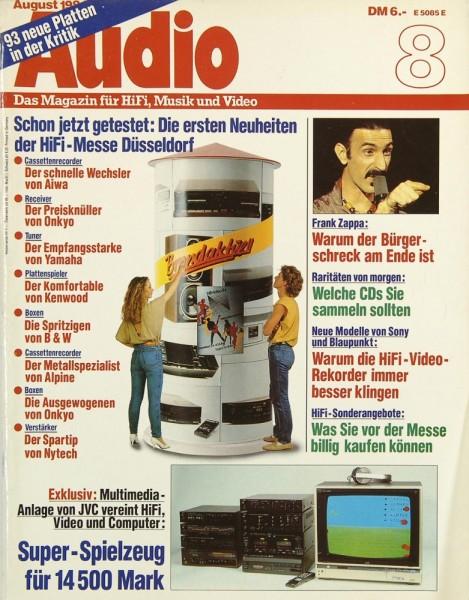 Audio 8/1984 Zeitschrift