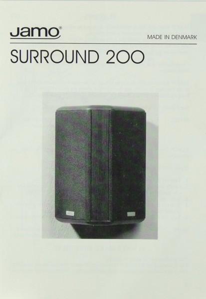 Jamo Surround 200 Bedienungsanleitung