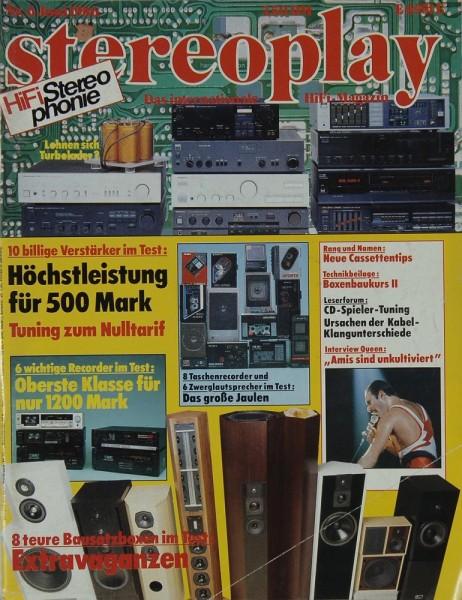 Stereoplay 6/1986 Zeitschrift